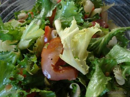 Салат из карпаччо куриного рецепты с фото