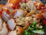 Салат из карпаччо с