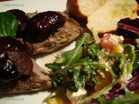 Рецепт оригинальных салатов из курицы