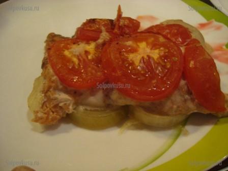 красная рыба в фольге филе в духовке рецепт