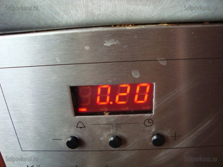 Кабачок в духовке