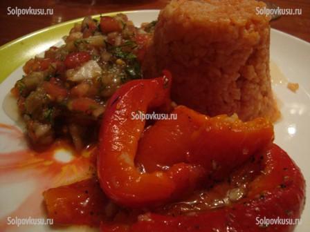 Мясо жаренное на салат