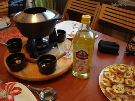 как приготовить соус для фандю