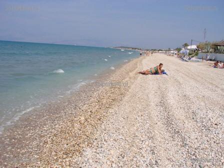 Пляж рода корфу фото